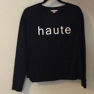 Banana Republic haute sweatshirt